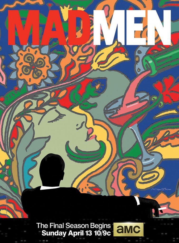 Man Men Season Finale Poster