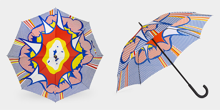 Roy Lichtenstein Explosion Umbrella