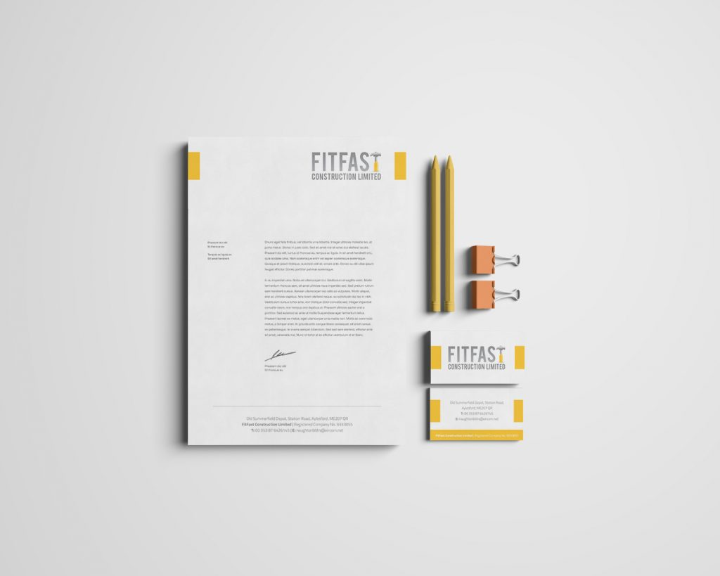Fitfast Co. Mayo Branding Design by Pretty Owl Designs