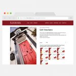 The Red Door Country House, Donegal Website Design by Pretty Owl Designs