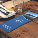 The Beachcomber Bar & Restaurant Menu Design Donegal